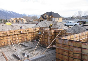 concrete footings Murray, Utah